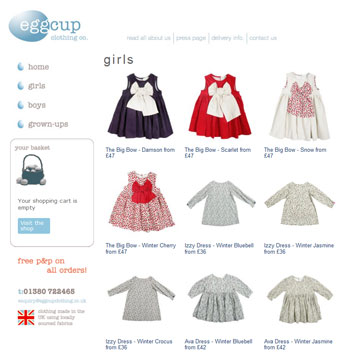 Websites To Design Clothes For Girls Eggcup Clothing Children s