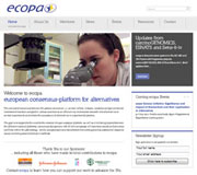 Ecopa Website Design