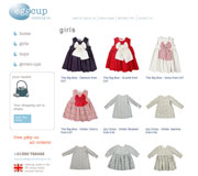 Eggcup Clothing Website Design