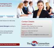 NHS Connection Website Design