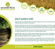 Quakers Walk Protection Group Website Design