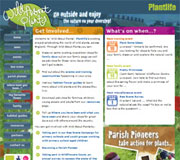 Wild About Plants Website Design