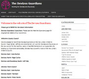 Devizes Guardians Website Design