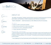 Ian Bell & Co Website Design