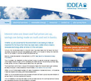 Iddea Website Design
